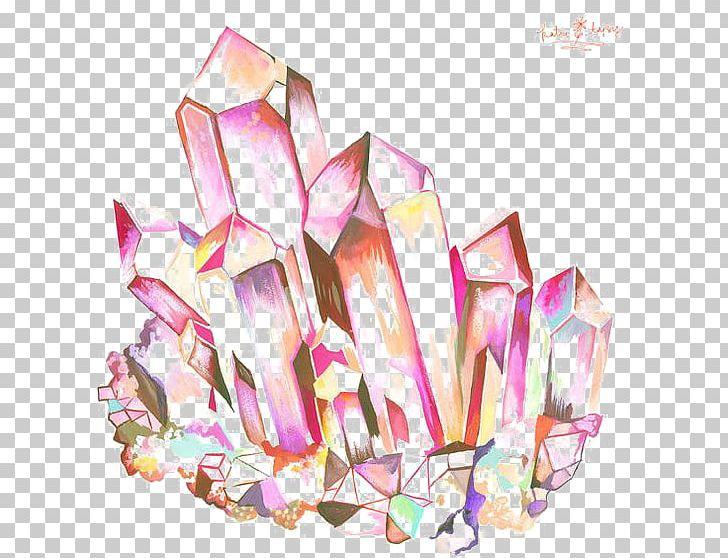 Crystal clipart cartoon. Geode drawing quartz amethyst