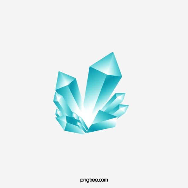 Crystal clipart cartoon. Mineral minerals