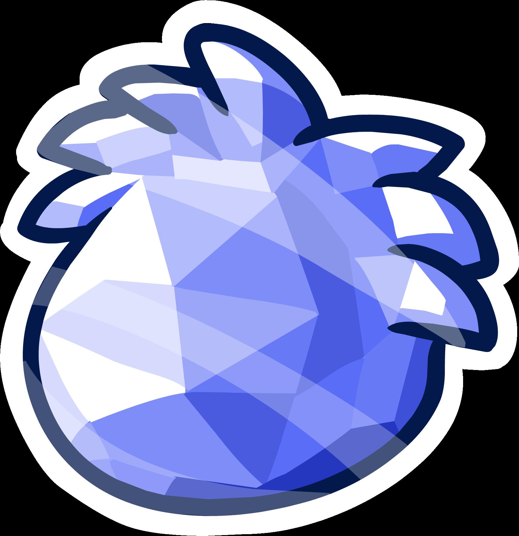 crystal clipart cobalt