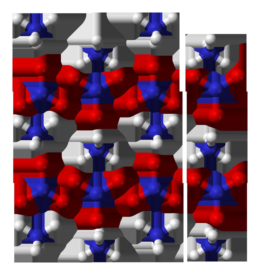 Evaporation clipart chemistry definition. File ammonium nitrate xtal