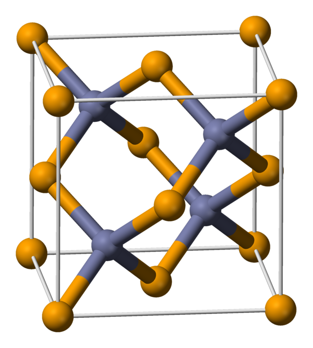 Zinc telluride wikiwand. Crystal clipart crystal structure