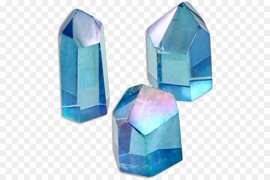 Crystal clipart electric blue. Crystals png quartz metal