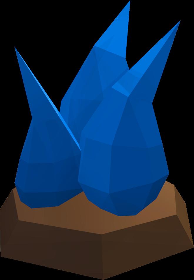 Scabarite runescape wiki fandom. Crystal clipart electric blue