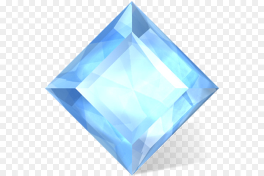 Crystal clipart electric blue. Design icon png download