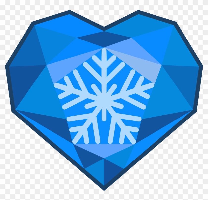 Mlp ice cutie mark. Crystal clipart electric blue