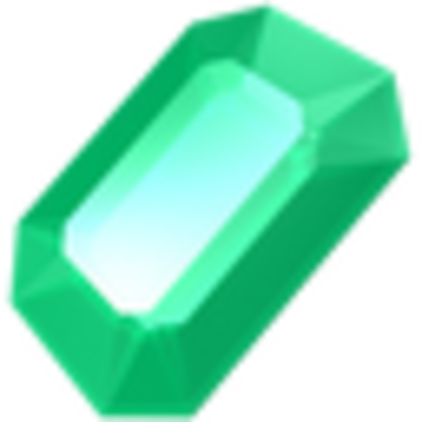 Gem clipart crystal. Emerald icon free images