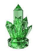 Crystal clipart green crystal. Panda free images