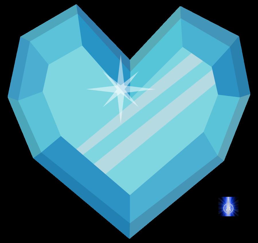Crystal clipart heart. Drawing at getdrawings com