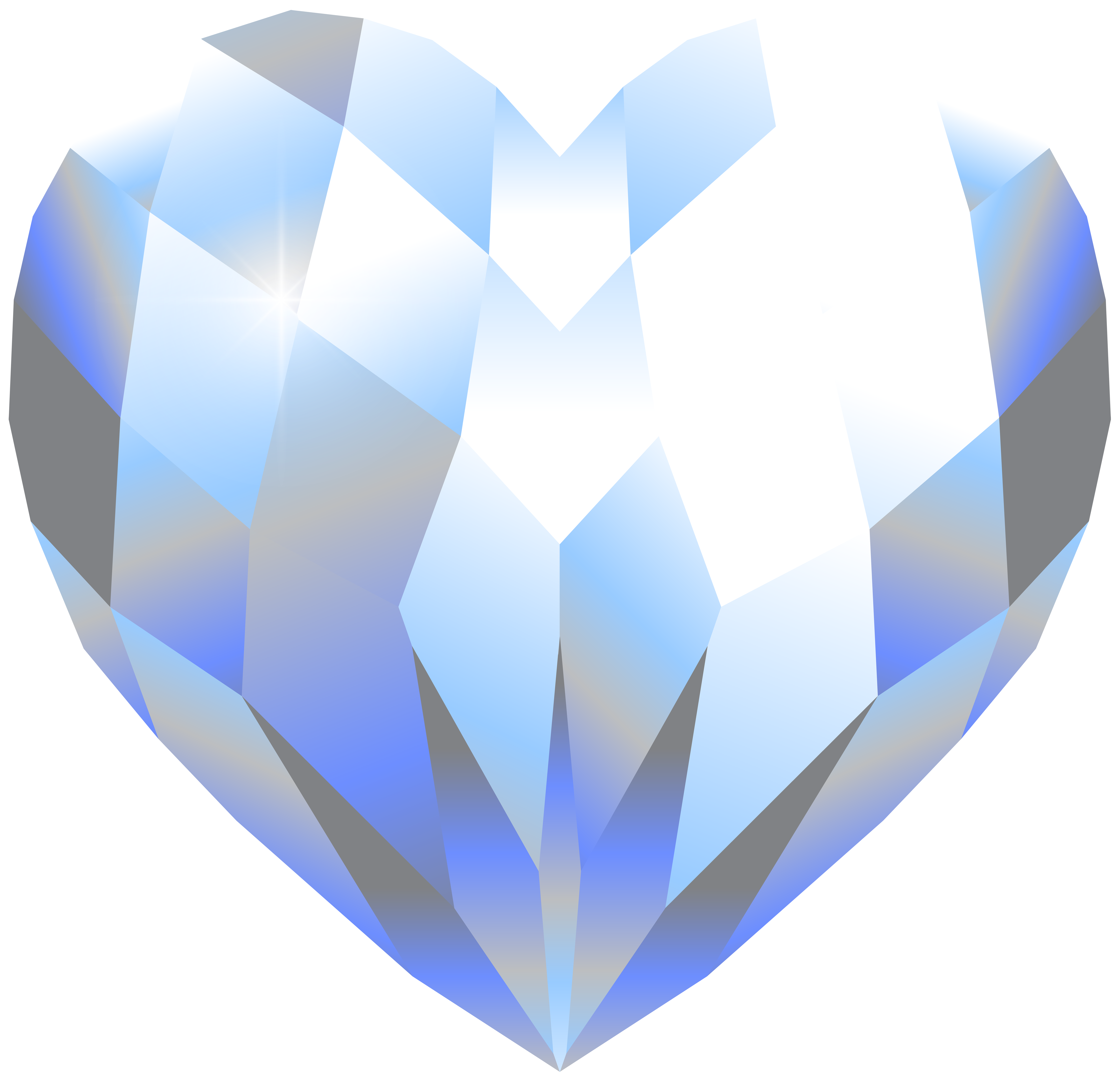 Crystal clip art png. Galaxy clipart heart