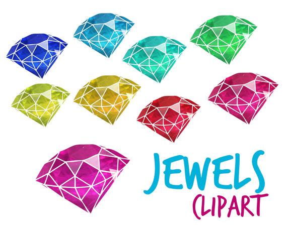 Crystal clipart jems. Jewels gems cut crystals
