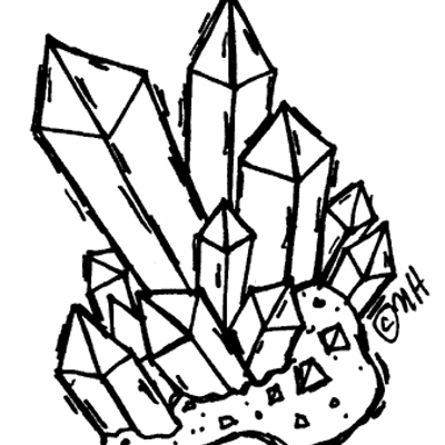 Collectors on twitter mm. Crystal clipart large