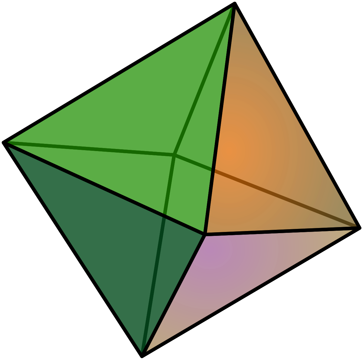 Crystal clipart octahedral. Octahedron simple english wikipedia