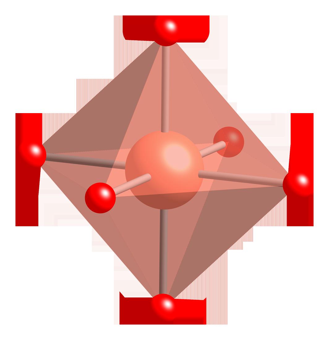 Crystal clipart octahedral. File ybco cu coordination