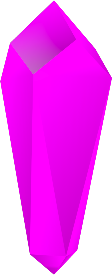 crystal clipart pink crystal