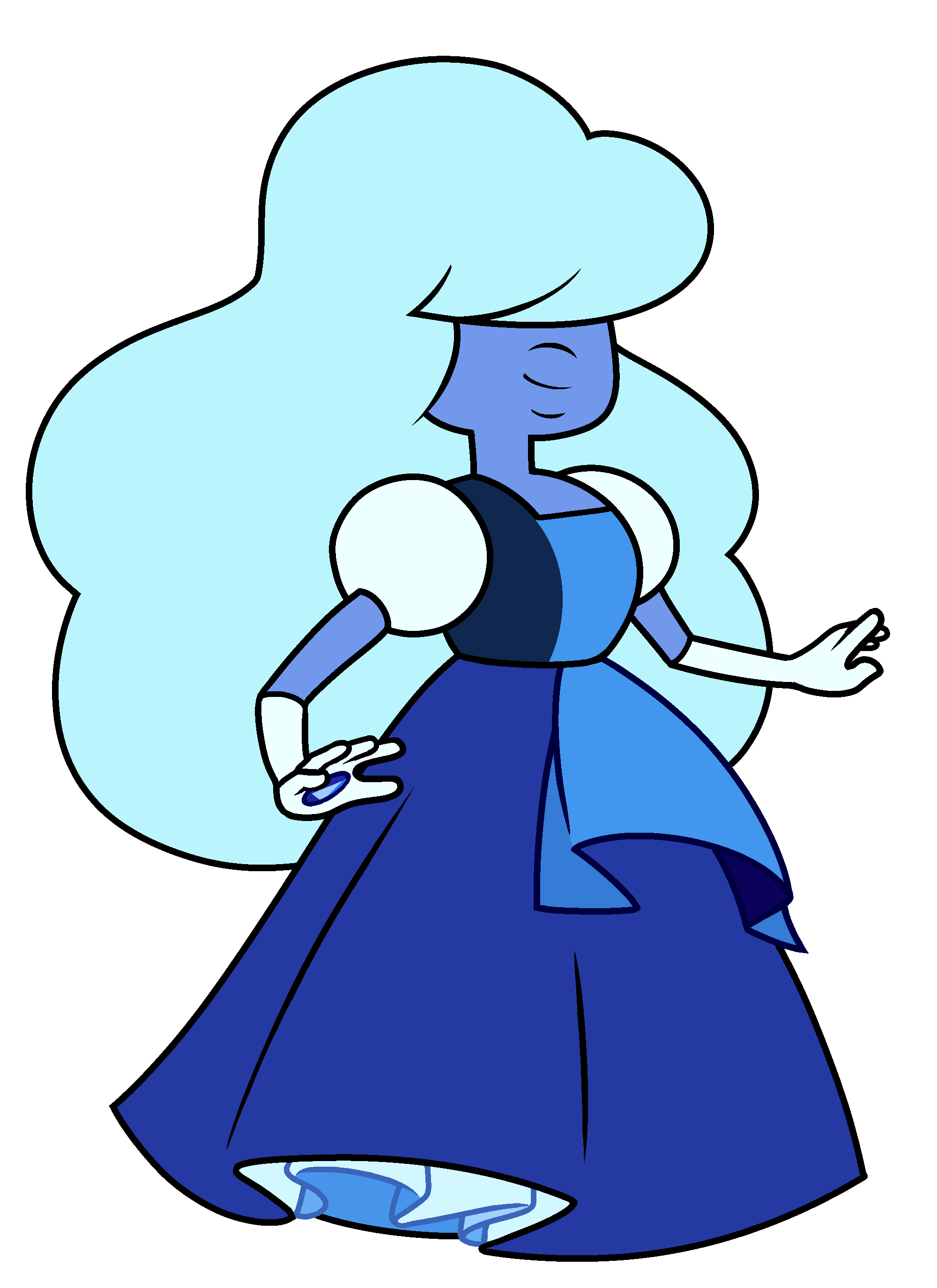 Sapphire pinterest steven universe. Crystal clipart quart