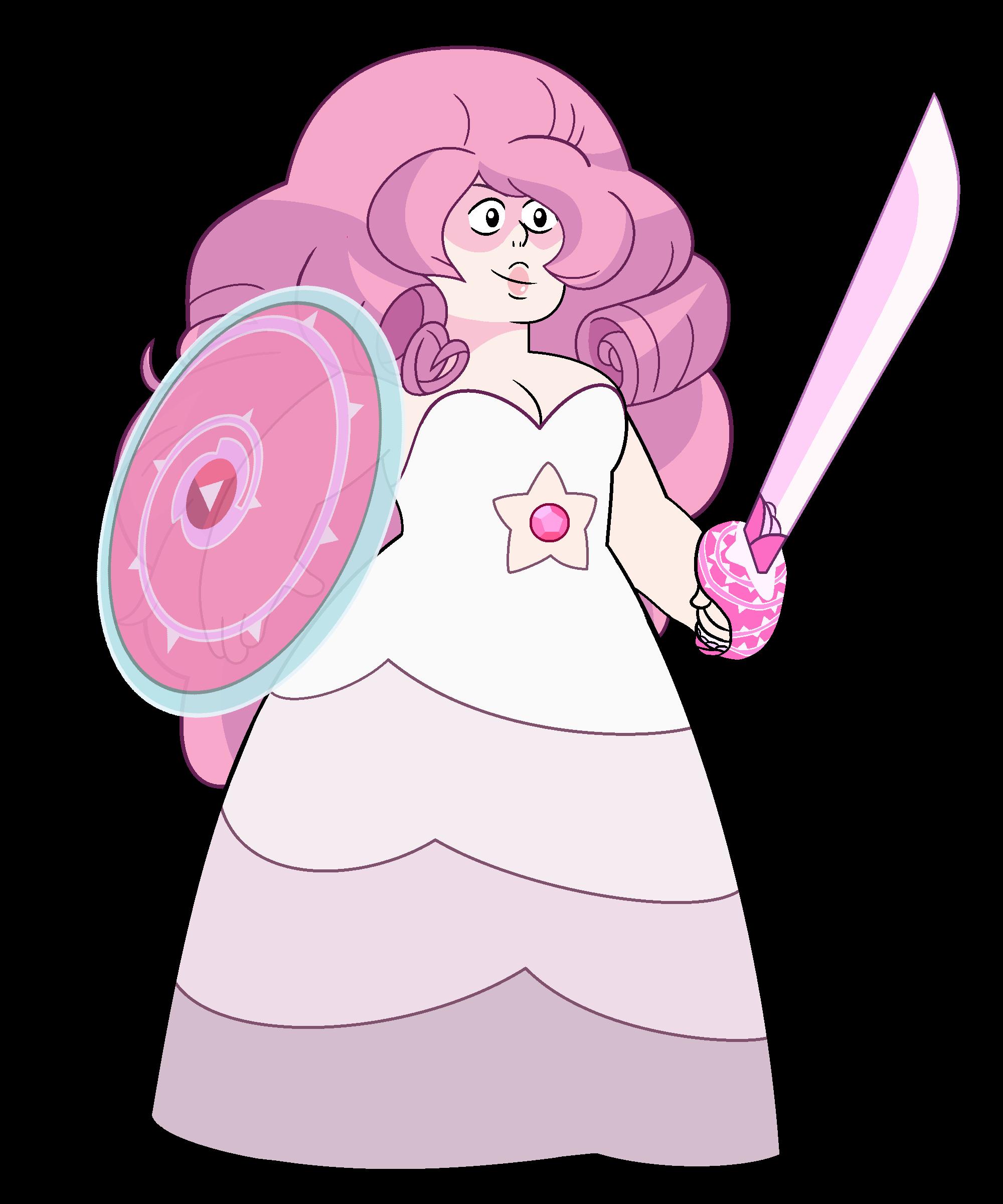 Rose quartz steven universe. Crystal clipart quart