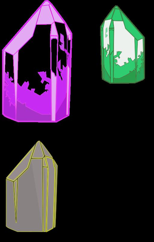 Crystals medium image png. Crystal clipart quartz