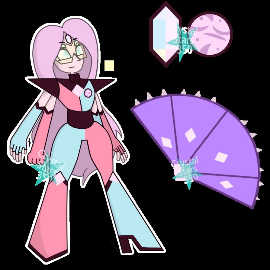 Steven universe oc fusion. Crystal clipart quartz