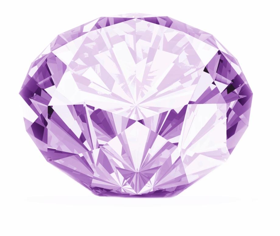 Crystal clipart transparent background. Purple diamond png image