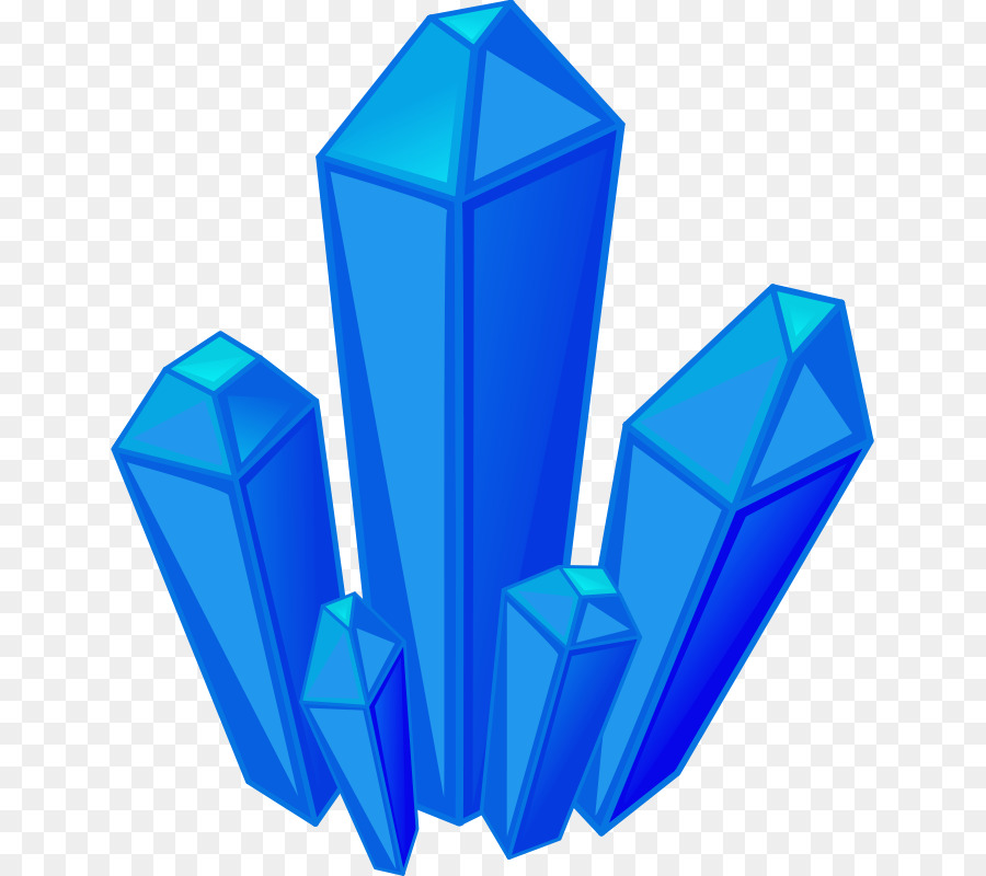 Crystal clipart transparent background. Rock blue product