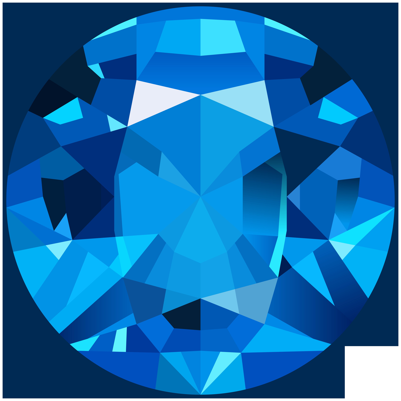 Gem clipart colourful. Blue png clip art