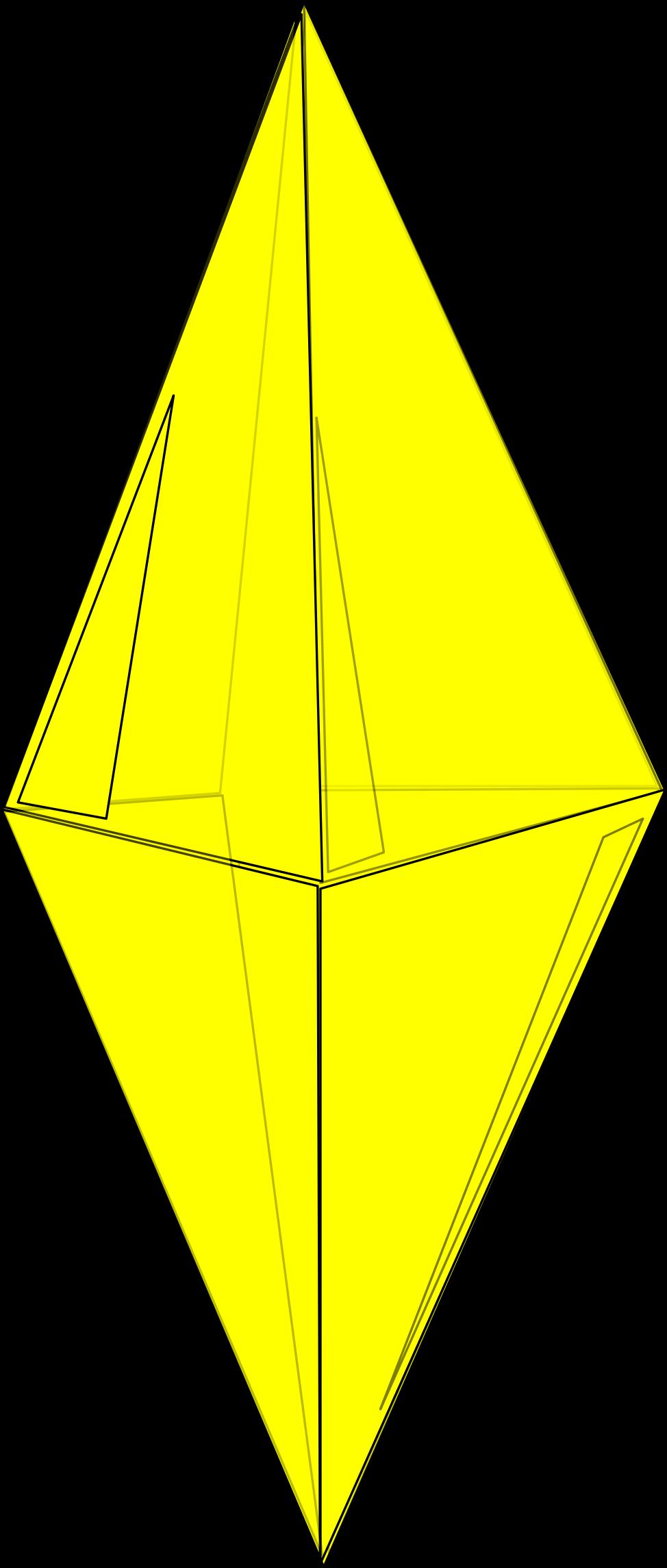 Crystal clipart yellow. Big image png