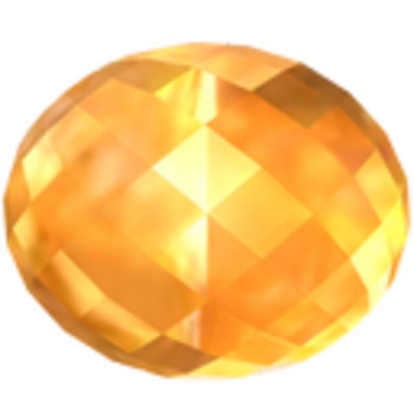 Citrine icon free images. Crystal clipart yellow