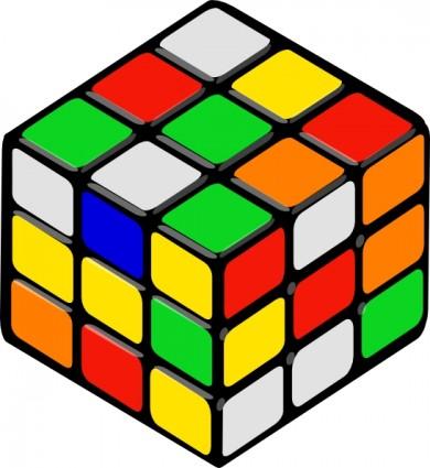Rubik s rubiks . Cube clipart