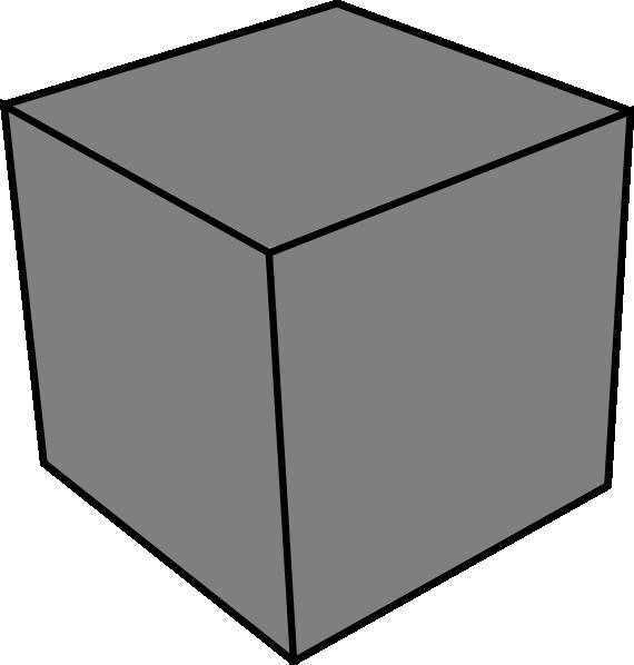 Clip art at clker. Cube clipart
