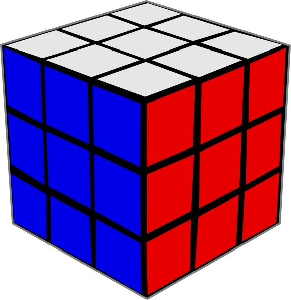 Cube clipart. Rubik clip art free