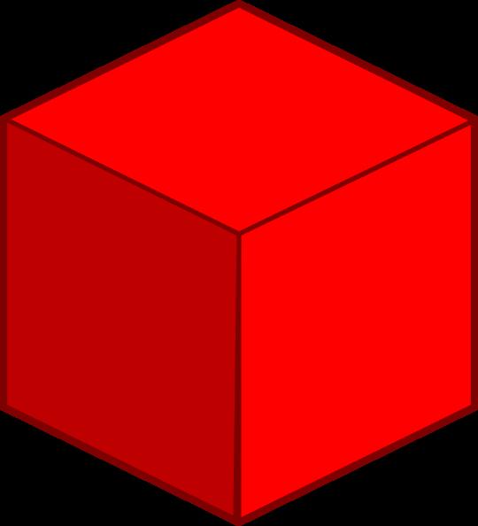 Cube clipart 3d square, Cube 3d square Transparent FREE ...