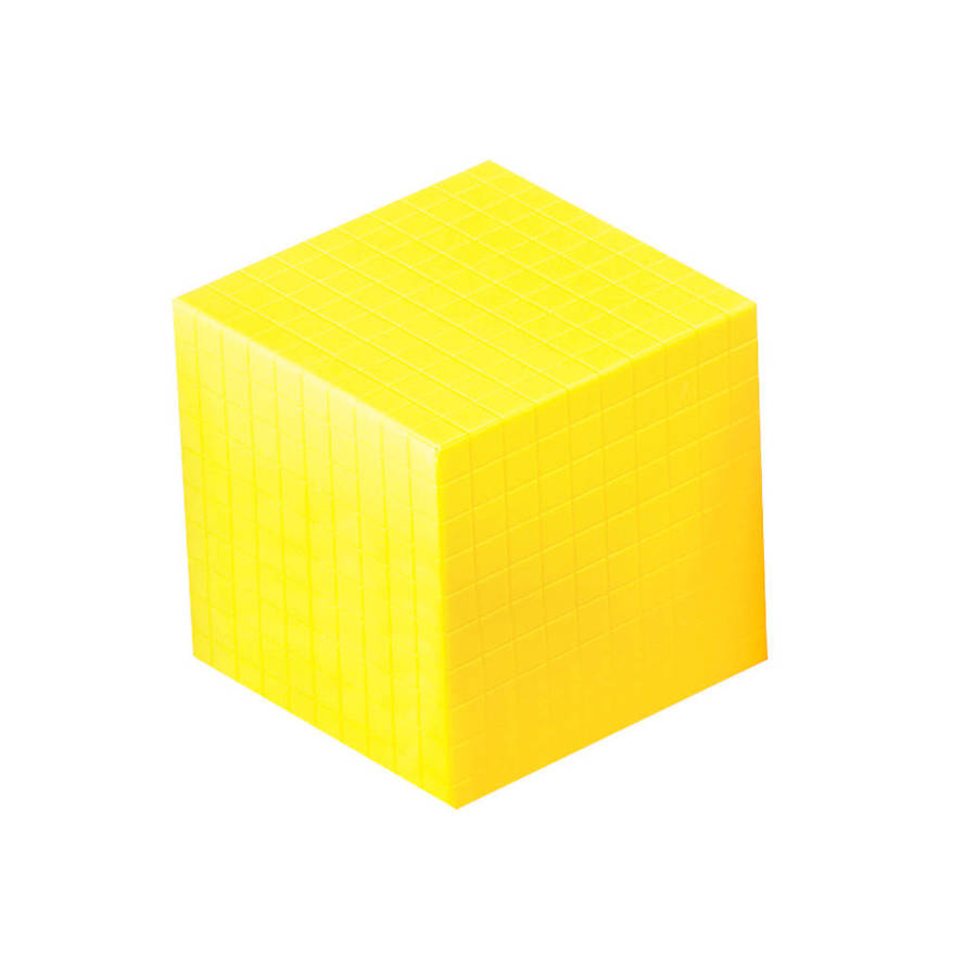 Download yellow blocks decimal. Cube clipart base ten
