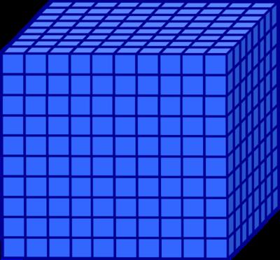 Cube clipart base ten. Blocks free download best