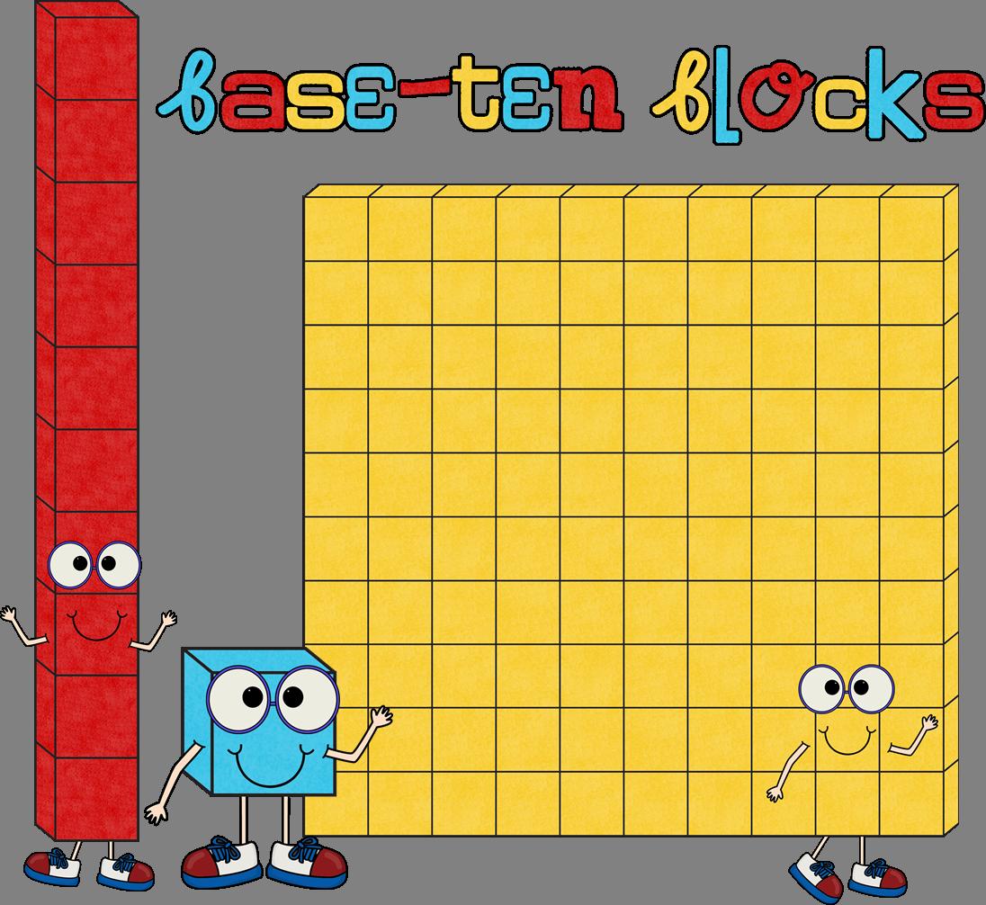 Free math blocks clip. Cube clipart base ten