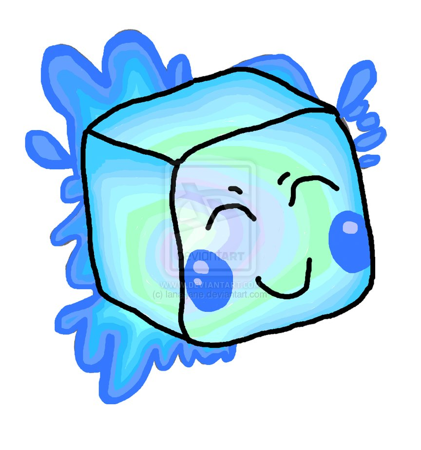 Cube clipart cartoon. Ice clip art bay