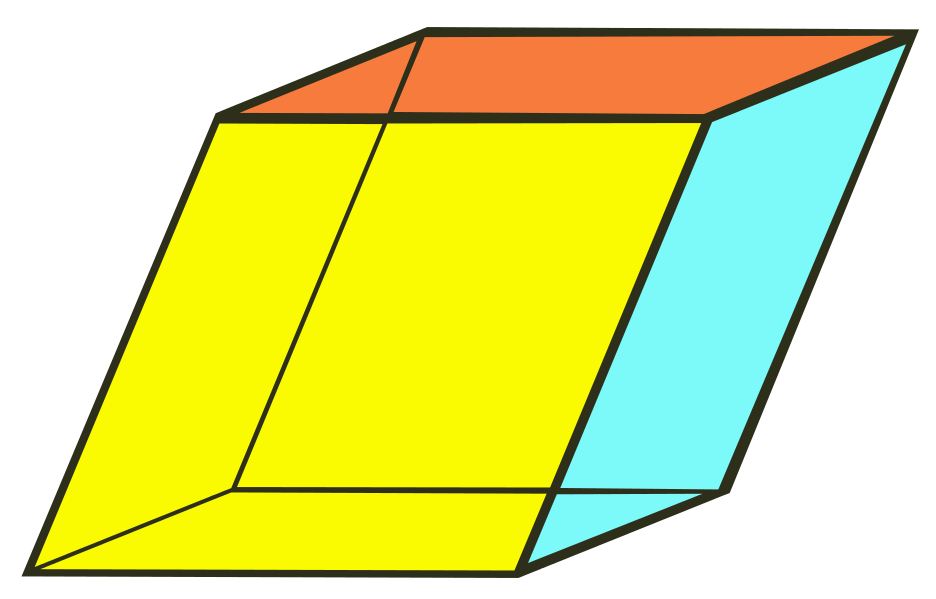 Cube clipart congruent. Geometry polyhedra having equal