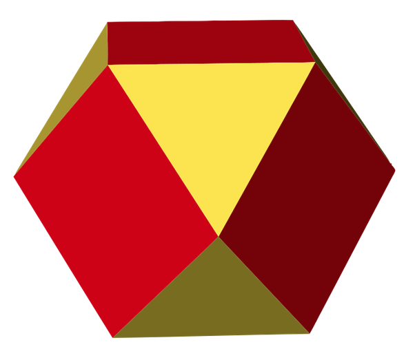 Cube clipart congruent. What is the origin