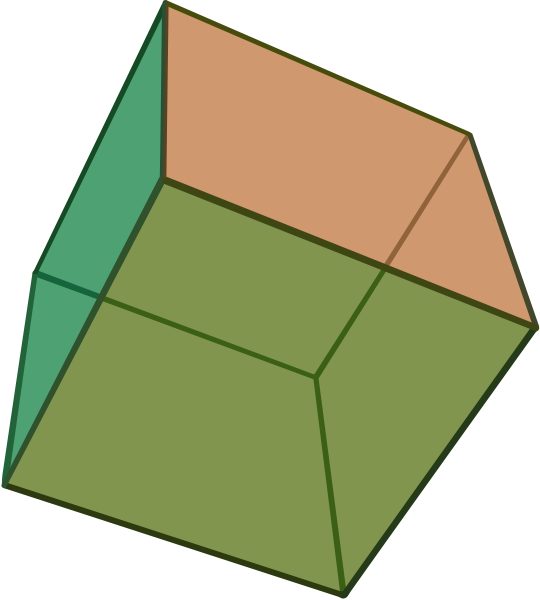 Mikeyy designs geometry and. Cube clipart congruent