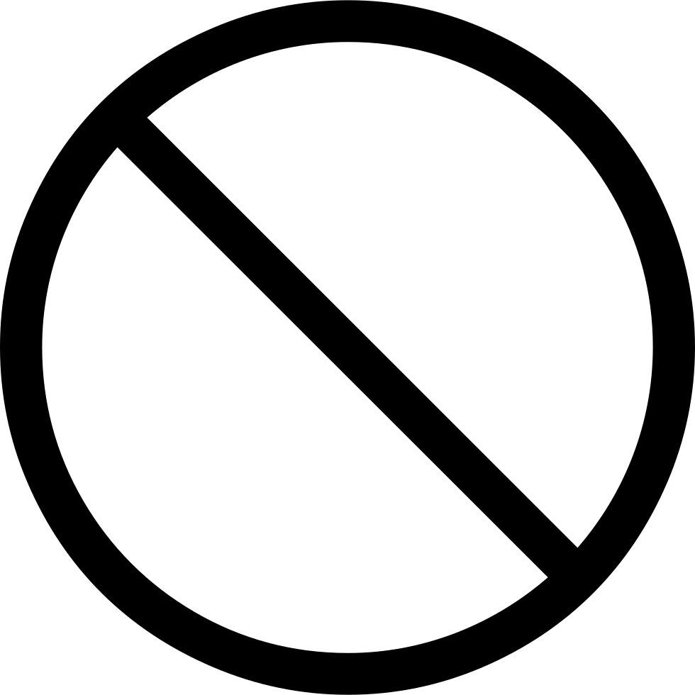 Forbidden sign svg png. Cube clipart connector