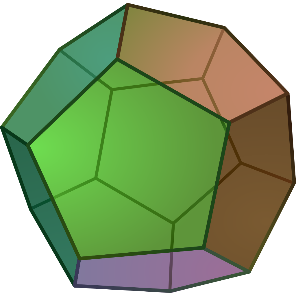 Cube clipart connector. File dodecahedron svg wikipedia