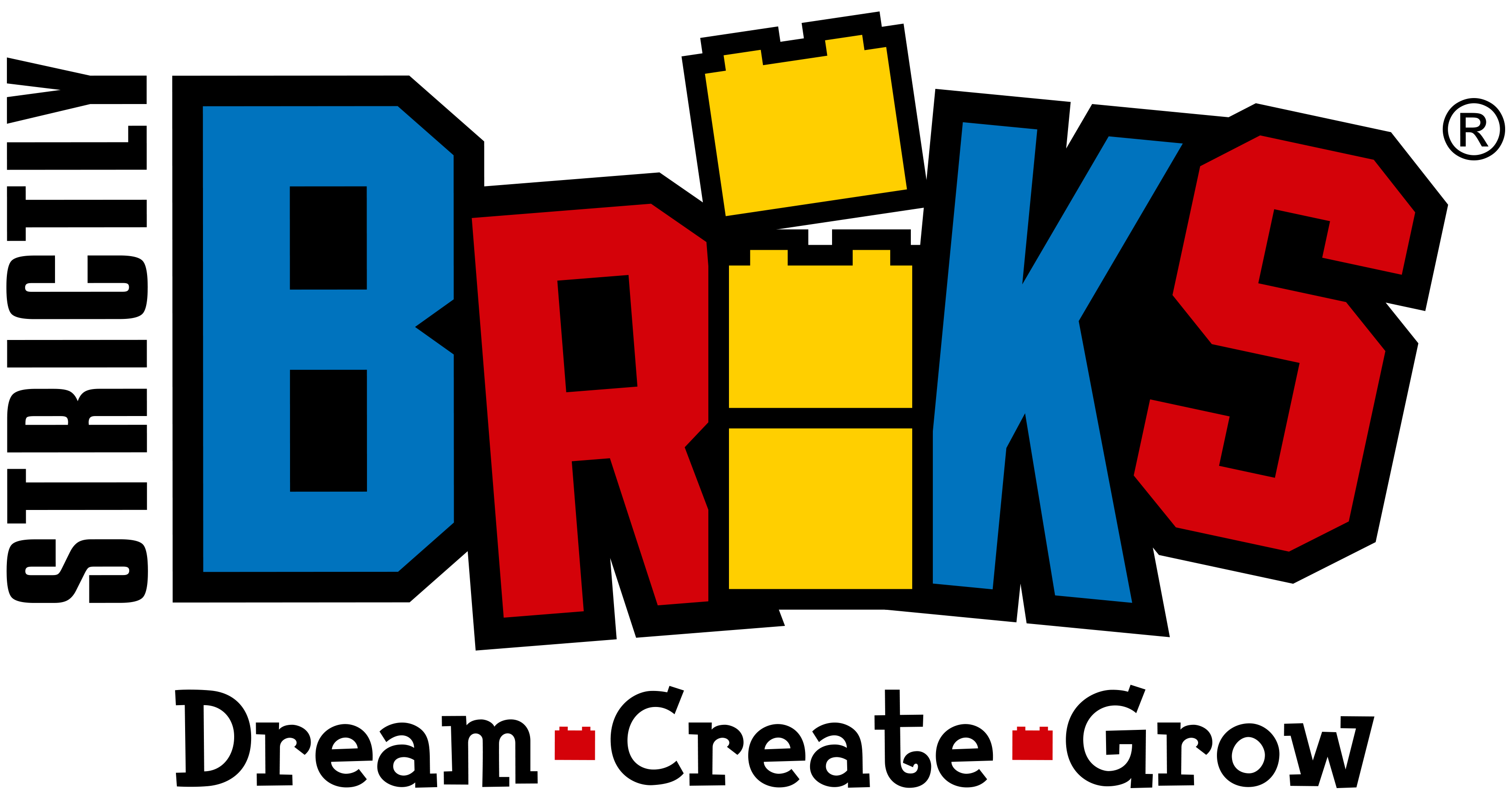Silicone briks and straps. Cube clipart connector