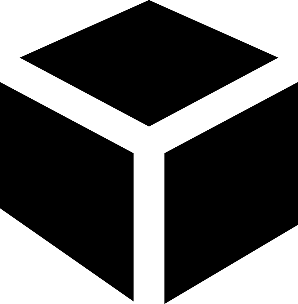 Cube clipart connector. Square svg png icon