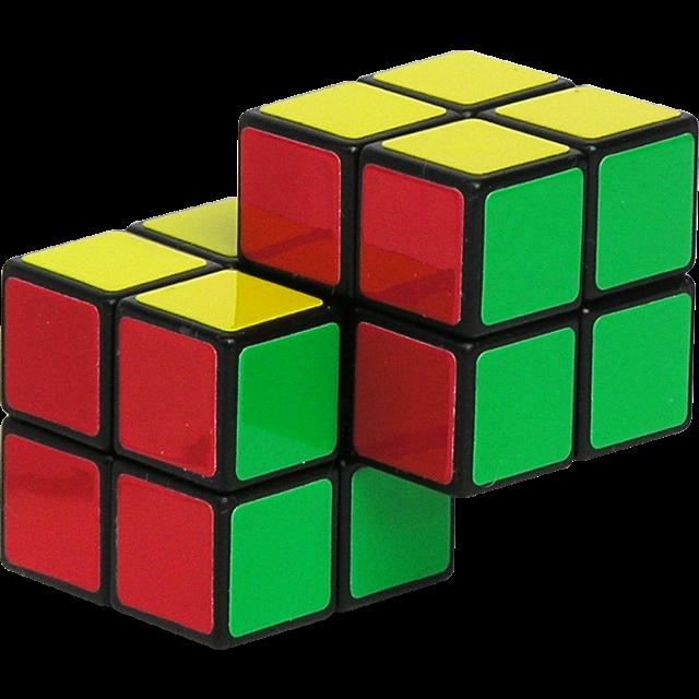 Cube clipart cube shape. Double x rubik s