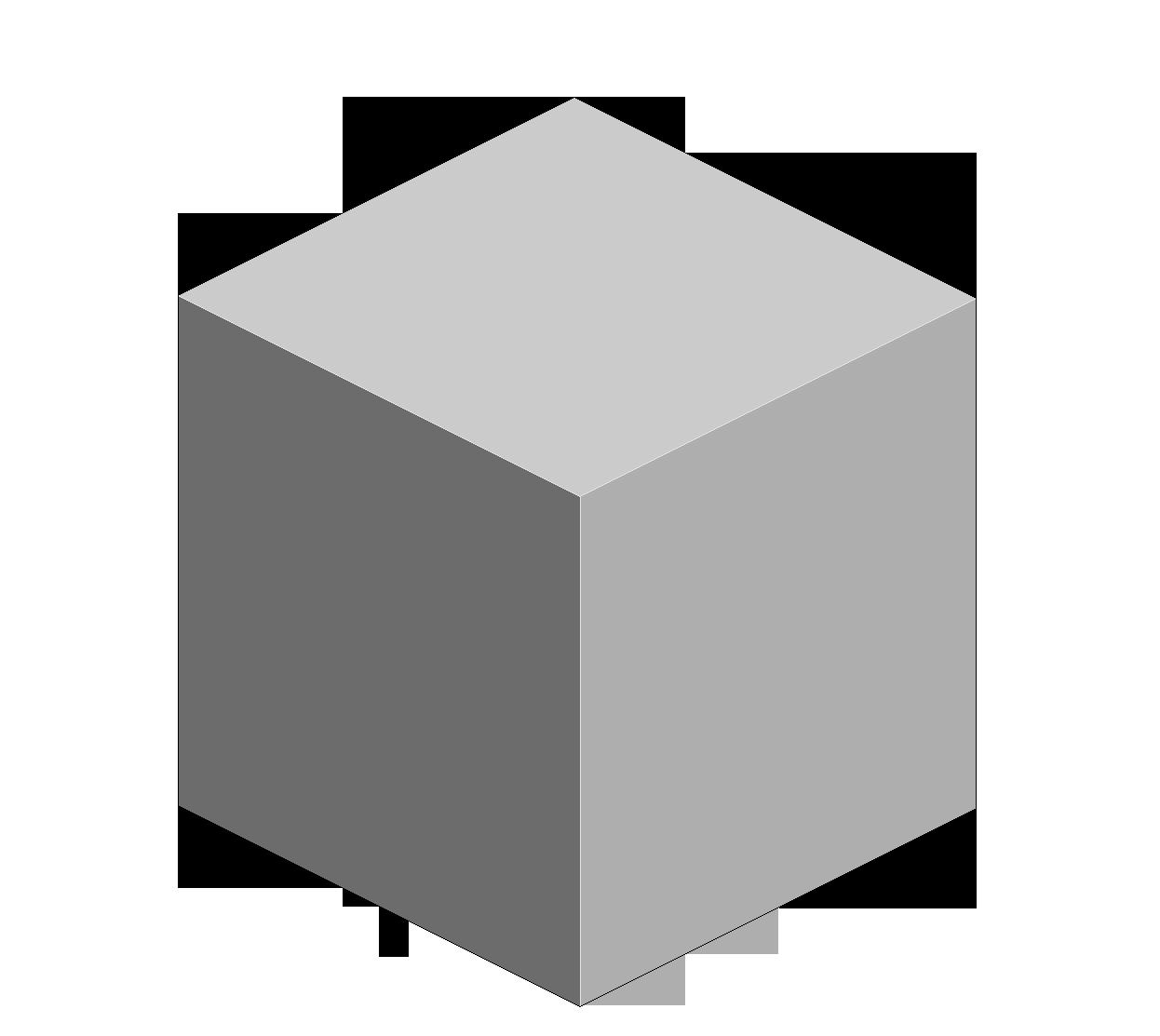 Png hd mart. Cube clipart cube shape