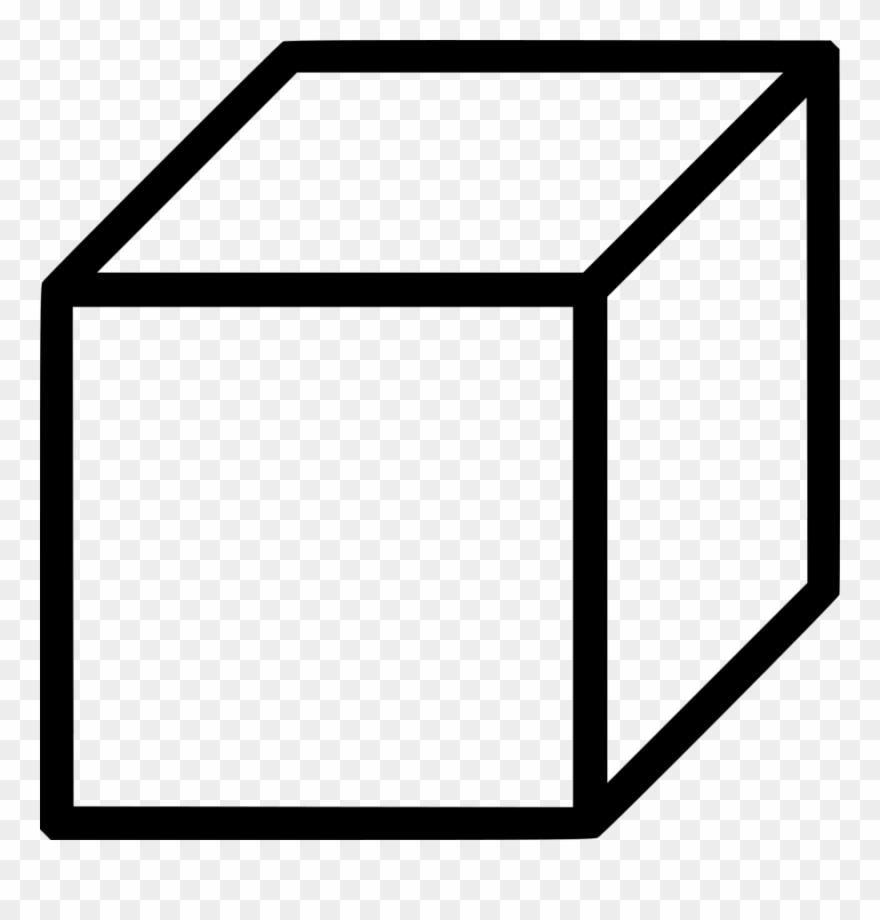 Cube clipart cube shape. Clip art icon png
