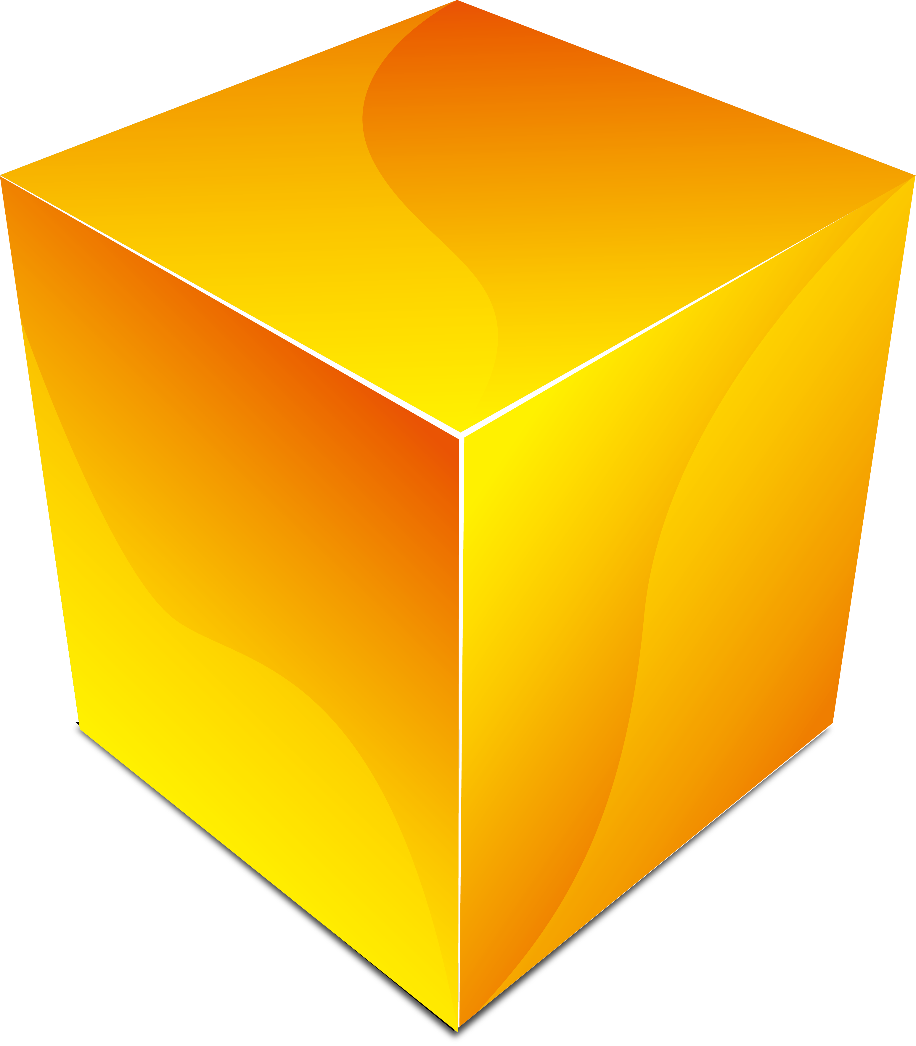 Square clipart yellow square. Industry box business material
