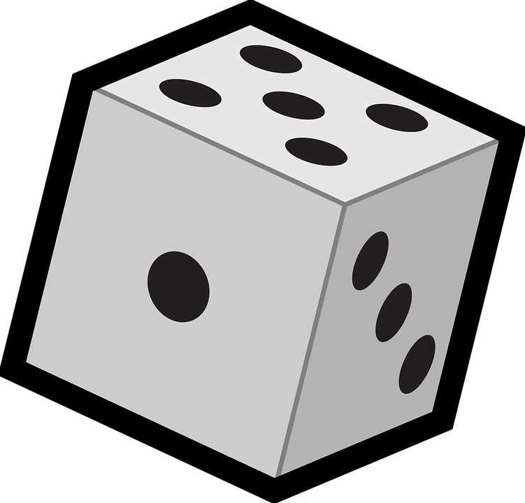 Dice clipart clemency. Objects pencil and in