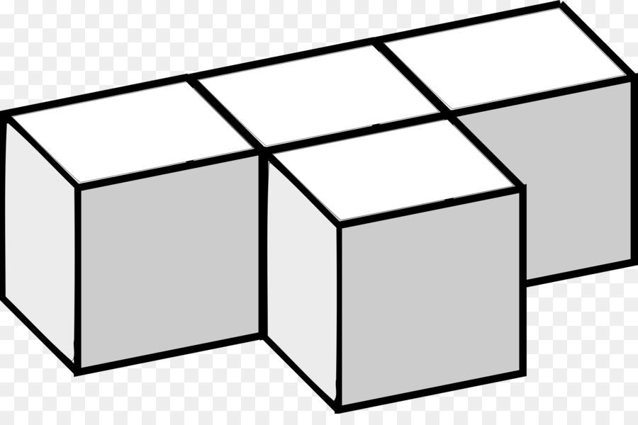 Cube clipart dimensional. Table cartoon diagram black