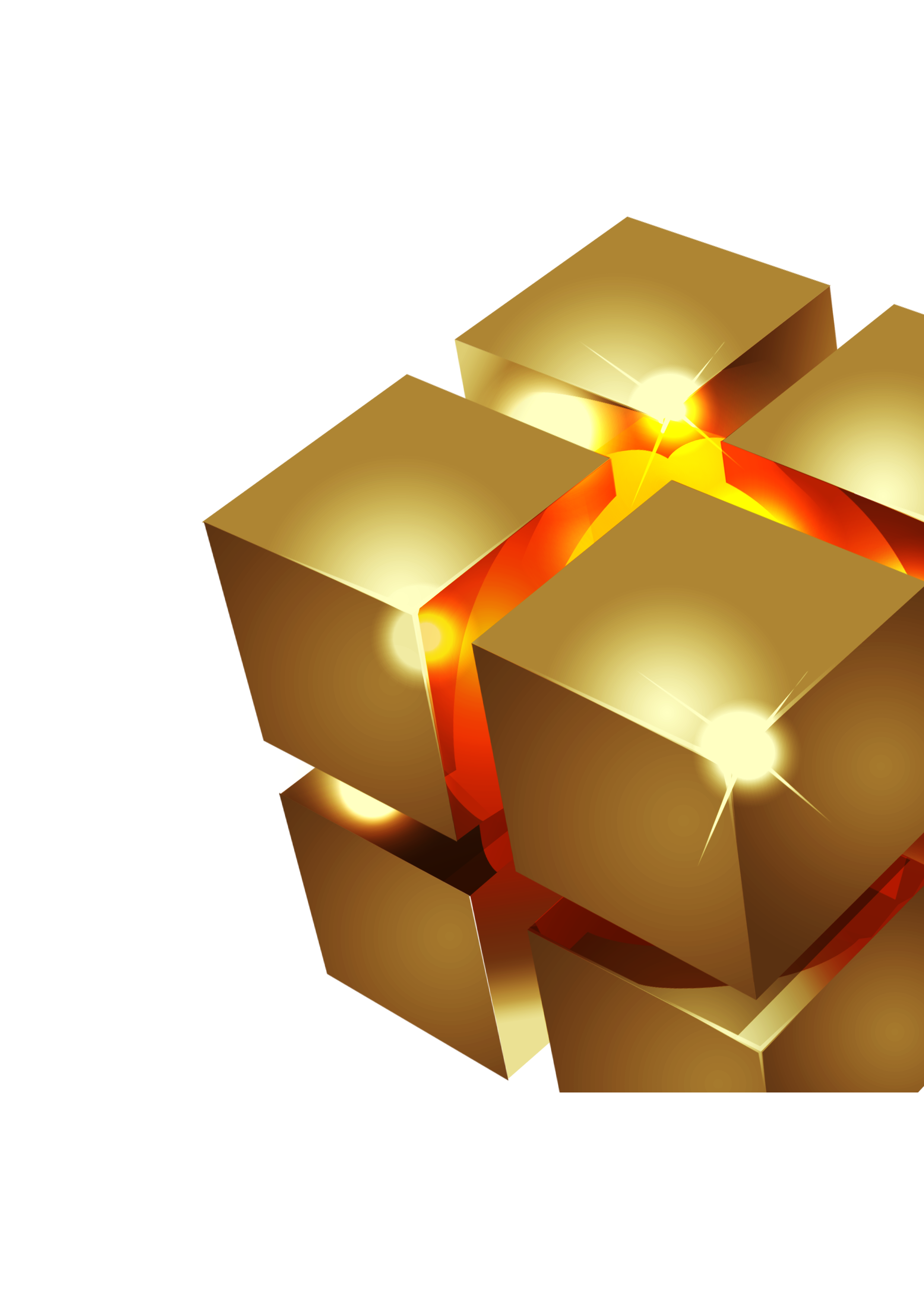 Three space d transprent. Cube clipart dimensional