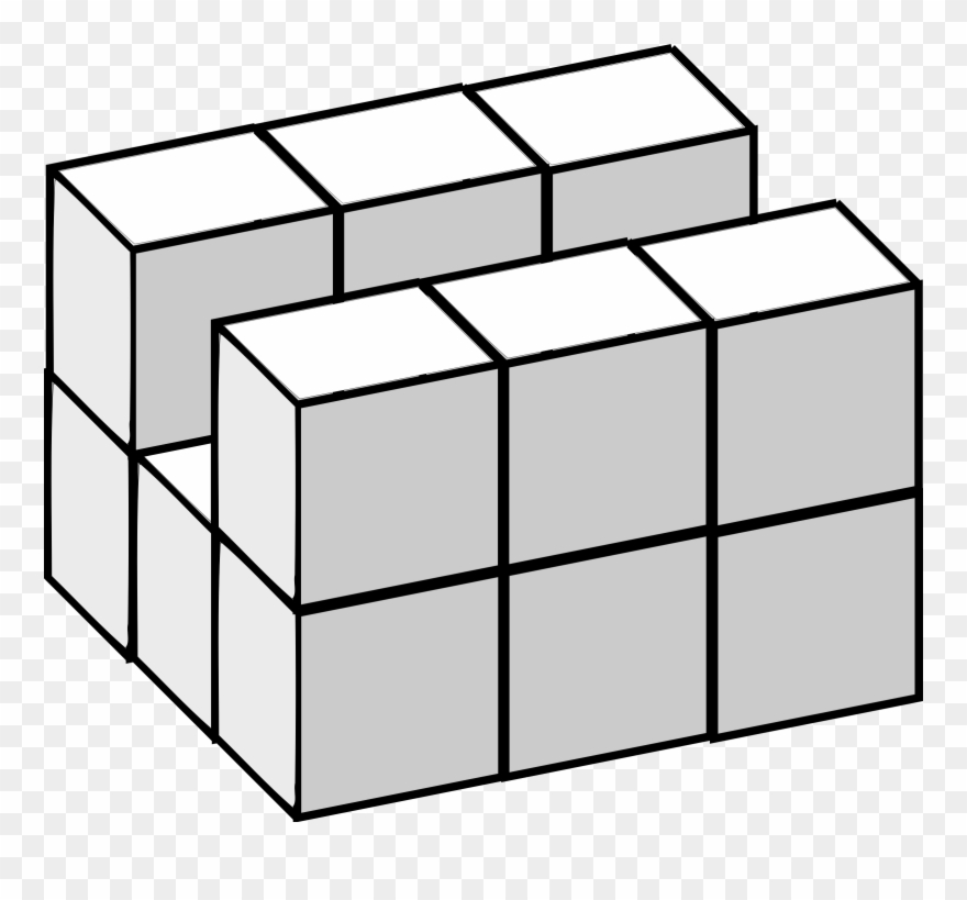 Cube clipart dimensional. Three space geometry five
